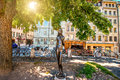 Statue In Geneva Stock Photography - 78497782