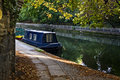 Landing-stage In Regent Canal Stock Photos - 7850003