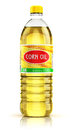 Plastic Bottle With Corn Oil Royalty Free Stock Photo - 78506975