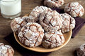 Chocolate Crinkle Cookies Royalty Free Stock Photography - 78513627