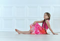 Cute Little Girl Posing Stock Photo - 78515740