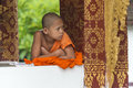 Young Buddhist Monk In Temple Stock Photos - 78584423