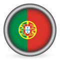 Portugal Flag Button Royalty Free Stock Photos - 7868768