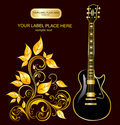 Illustration With Guitar Royalty Free Stock Image - 7869606