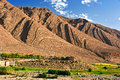 Landscape View Of High Atlas Mountains, Morocco Stock Image - 78616731