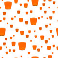 Seamless Pattern With Sky Lanterns Isolated Stock Photography - 78631262