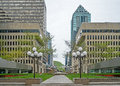 Place Ville Marie Montreal (belvedere) Royalty Free Stock Photos - 78653198