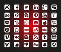 Social Network Icons Stock Images - 78675014