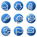 E-mail Web Icons Royalty Free Stock Photos - 7871338