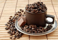 Cup With Coffe Beans Stock Photo - 7876690
