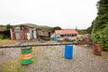 Rundown And Ramshackle Home Stock Images - 78708364