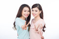 Two Happy Young Female Friends. Asian Girls Laughing. Stock Photo - 78725550