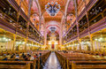 Interior Of The Great Synagogue Or Tabakgasse Synagogue In Budapest, Hungary Royalty Free Stock Images - 78754959