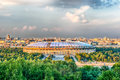Aerial View Of Luzhniki Stadium From Sparrow Hills, Moscow, Russ Stock Photos - 78802393