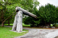 Lumberman S Arch, Stanley Park, Vancouver, British Columbia, Can Royalty Free Stock Images - 78803919