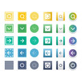 Web Buttons Vector Icons. Royalty Free Stock Photos - 78804468