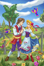 Fairytale Couple Royalty Free Stock Images - 78830919