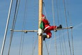Santa On A Cruise Royalty Free Stock Images - 78835589