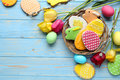 Easter Cookies Stock Photography - 78838362