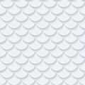 Light Gray Fish Scale Seamless Background. Royalty Free Stock Images - 78871459