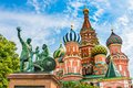 St. Basils Cathedral On Red Square In Moscow, Russia Stock Image - 78883491