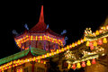 Temple Lighted Up For Chinese New Year Royalty Free Stock Photos - 7899728