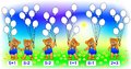 Exercises For Children – Need To Solve Examples And Paint The Corresponding Number Of Balloons. Stock Photography - 78913702