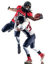 American Football Players Men Isolated Royalty Free Stock Photography - 78927857