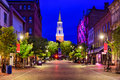 Church Street In Burlington, Vermont Royalty Free Stock Images - 78933319