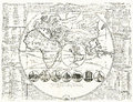 World Map - Seven Wonders Of The Ancient World  1707 Stock Photos - 78947123