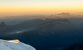 Mont Blanc Sunrise Stock Images - 78954954