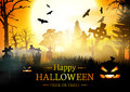 Happy Halloween Card. Stock Images - 78979644
