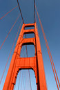 South Tower Of Golden Gate Bridge Royalty Free Stock Photography - 794377