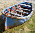 Blue Rowing Boat Royalty Free Stock Photos - 799318