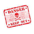 Danger Rubber Stamp Royalty Free Stock Photo - 7903265