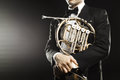 French Horn Royalty Free Stock Image - 79020236