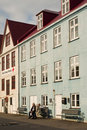 Buildings In Faroe Islands Capital Old Town Royalty Free Stock Image - 79071156