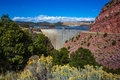 Flaming Gorge Reservoir Dam Royalty Free Stock Photography - 79080117