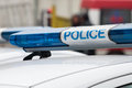 Police Car Sign. Siren Light Stock Images - 79085464
