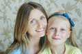 Close-up Portrait Of Mother And Her Teenage Daughter Royalty Free Stock Photos - 79087098