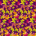 Fall Colored Wallpaper Vector Illustration. Wrapping Paper Motif Seamless Pattern. Royalty Free Stock Image - 79099176