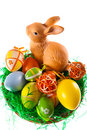 Easter Eggs And Bunny Stock Photos - 7918093