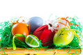Easter Eggs  Royalty Free Stock Photo - 7918265