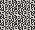 Vector Seamless Black And White Geometric Grid Pattern Royalty Free Stock Photography - 79110617