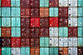 Shipping Containers Pattern Royalty Free Stock Photo - 79137095