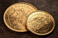 Dutch Gold Coins Stock Photography - 79189212