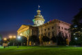 The South Carolina State House In At Night, In Columbia, South C Stock Photography - 79198952