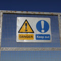 Danger Keep Out Signs Royalty Free Stock Photo - 7925545