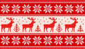 Seamless Knitting Pattern With Deers And Nordic Stars Royalty Free Stock Photography - 79206137