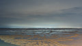 Sandy Beach In Low Tide Stock Photography - 79228982